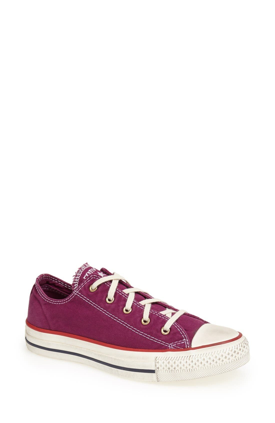 Main Image - Converse Chuck Taylor® All Star® Washed Low Sneaker (Women)