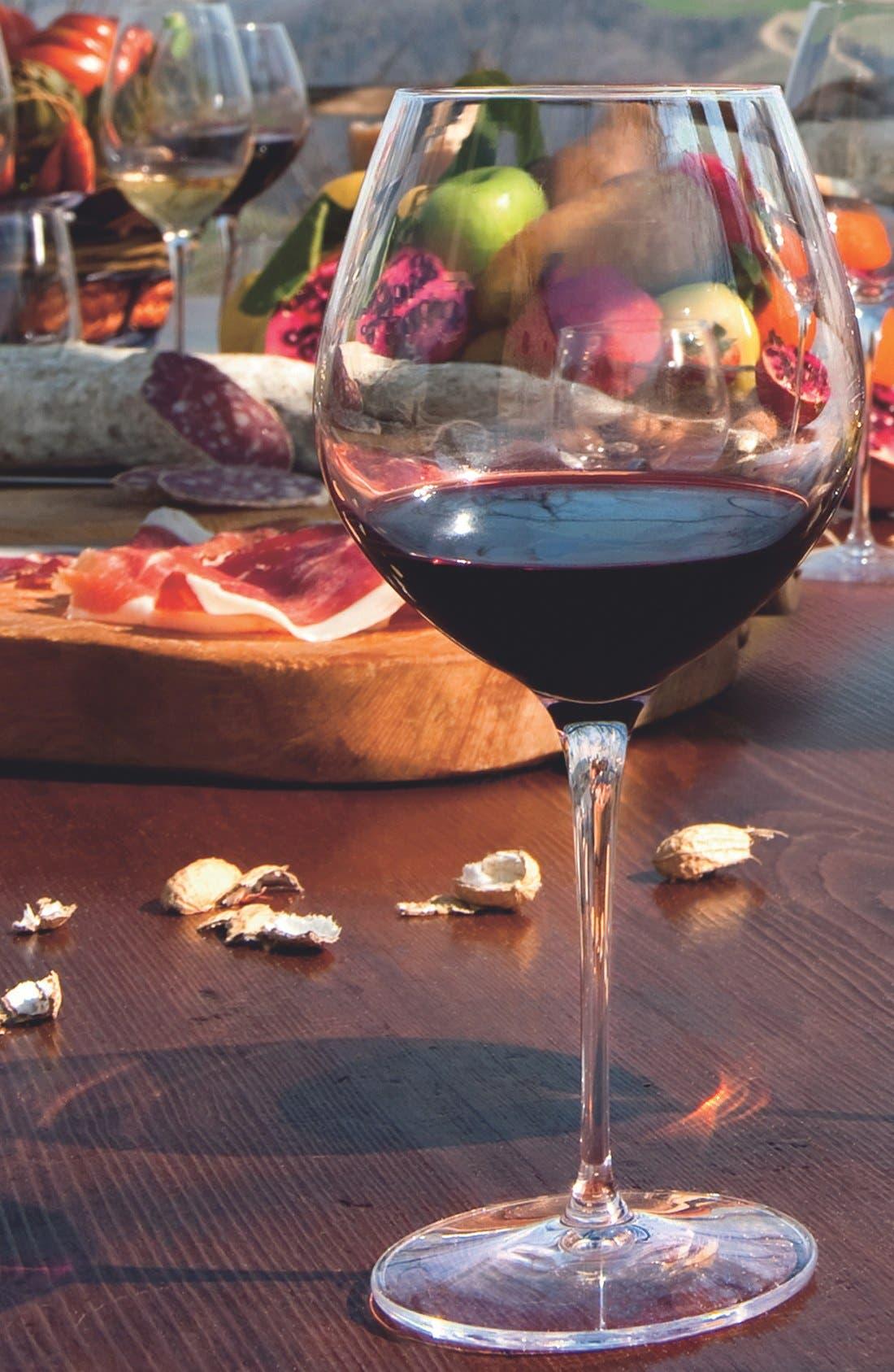 Alternate Image 2  - Luigi Bormioli 'Crescendo' Bourgogne Glasses (Set of 4)