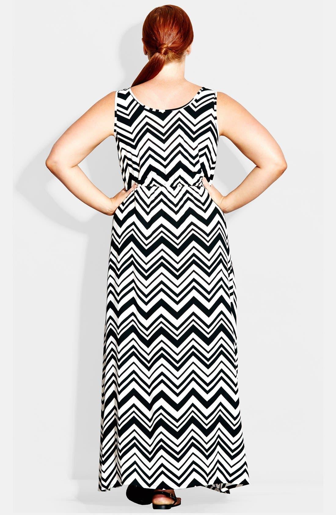 Alternate Image 3  - City Chic 'Jamaica' Maxi Dress (Plus Size)