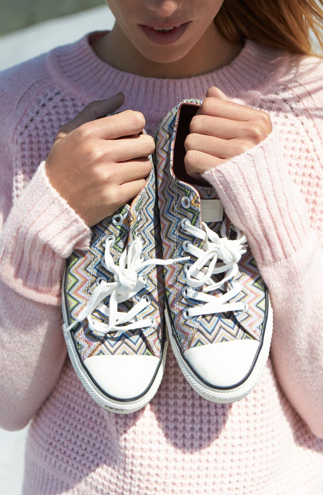 x Missoni Chuck Taylor<sup>®</sup> All Star<sup>®</sup> Low Sneaker,                             Alternate thumbnail 8, color,