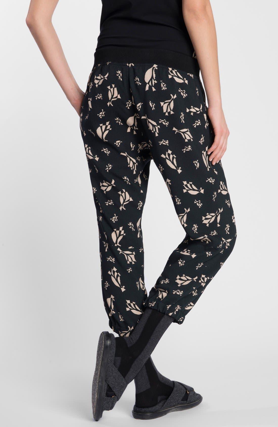 Alternate Image 2  - Marni Print Cropped Pants