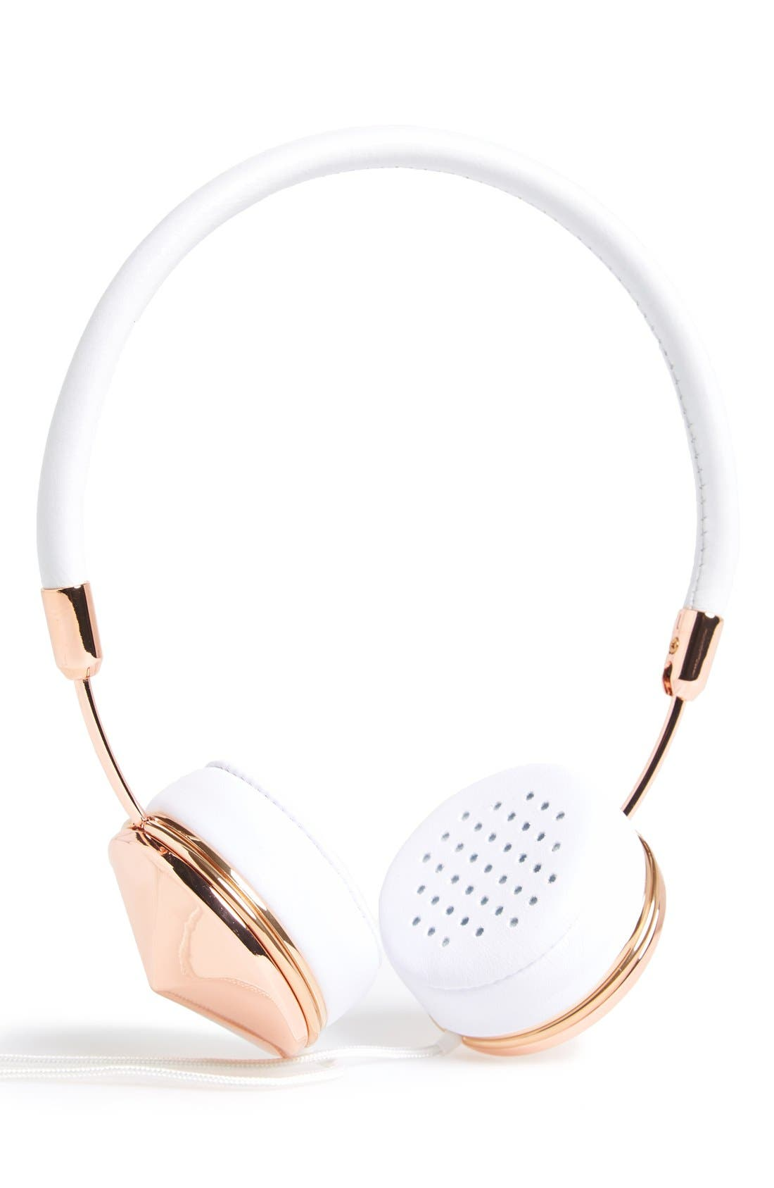 with Benefits 'Layla' Headphones,                         Main,                         color, Rose/ White