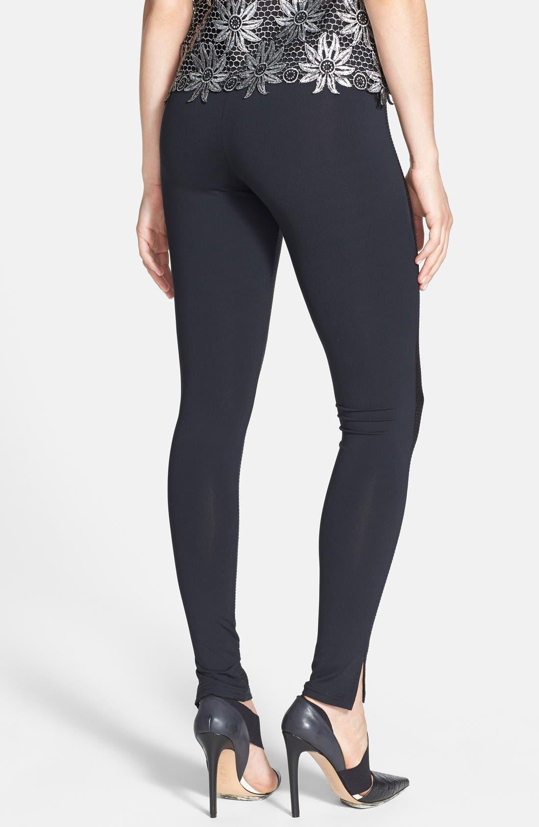 Alternate Image 2  - Leith Textured Leggings