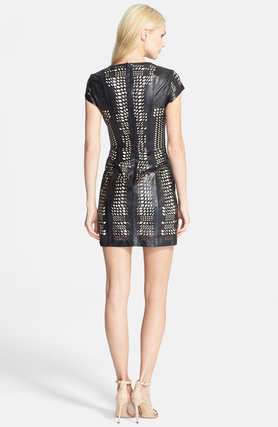 'Serena' Dress,                             Alternate thumbnail 2, color,                             Black