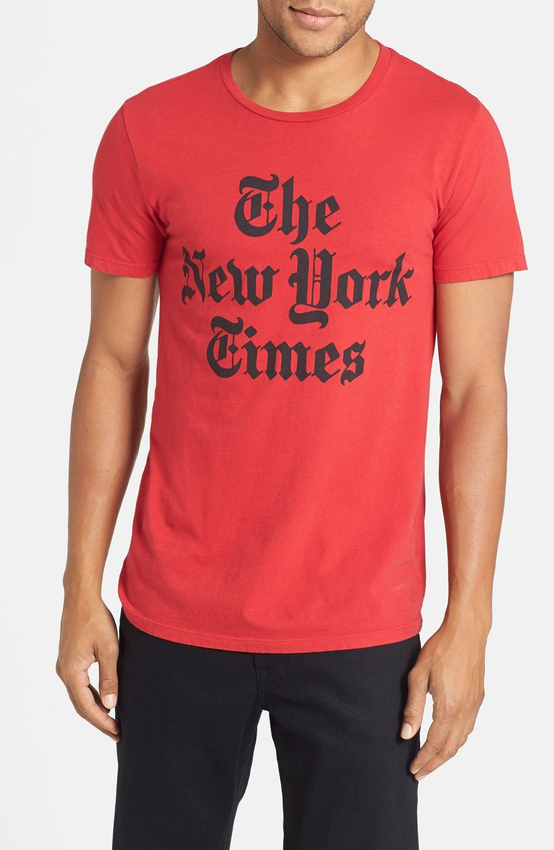 Alternate Image 1 Selected - Altru 'New York Times' Graphic T-Shirt