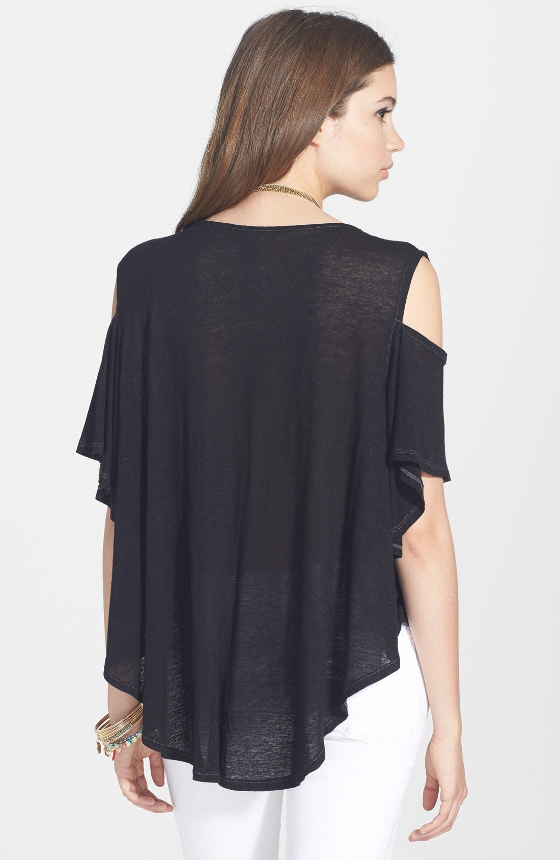 Alternate Image 2  - Free People Seamed Cold Shoulder Top