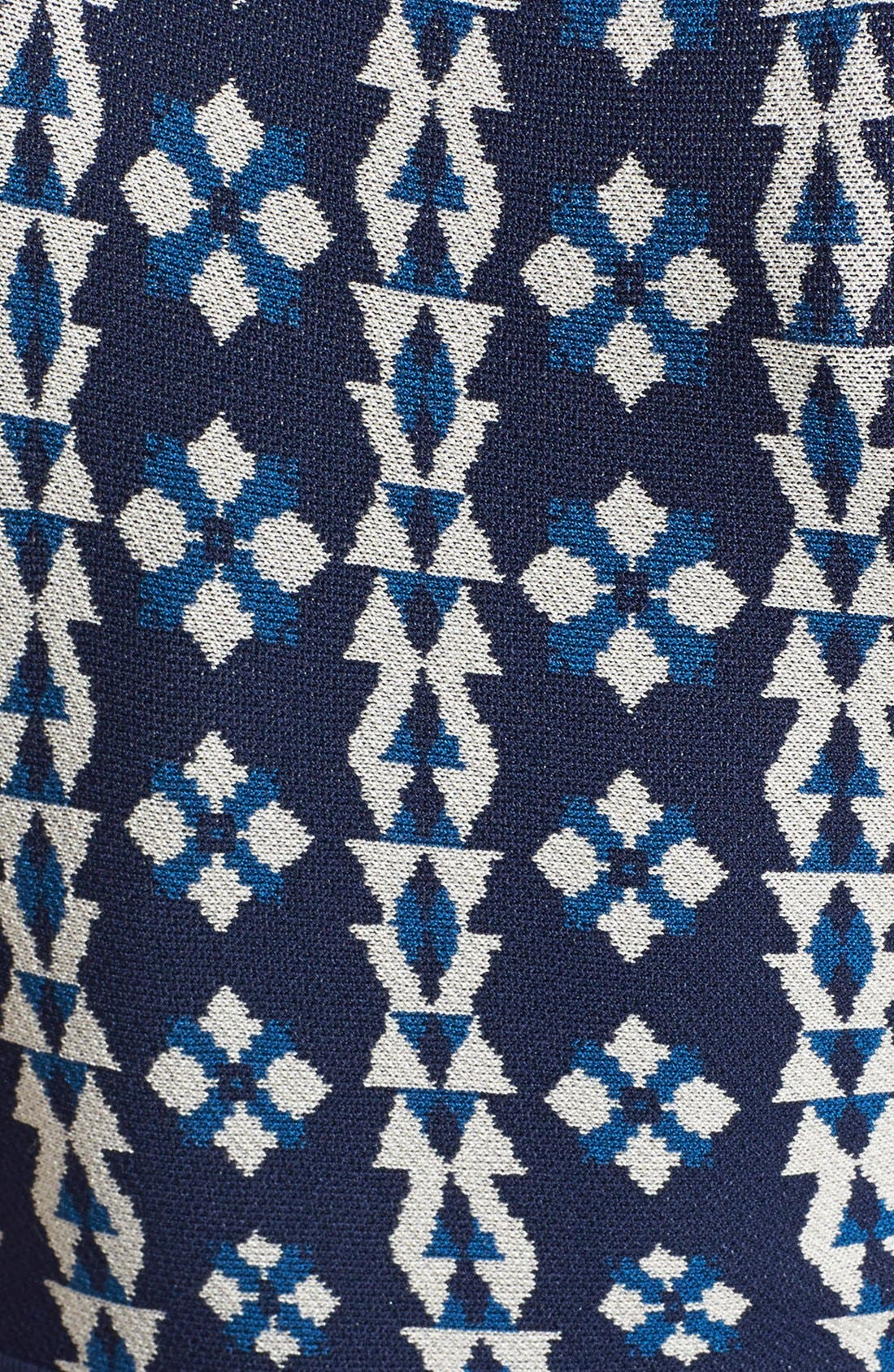 Alternate Image 4  - Cynthia Steffe 'Carmela' Floral Fit & Flare Sweater Dress
