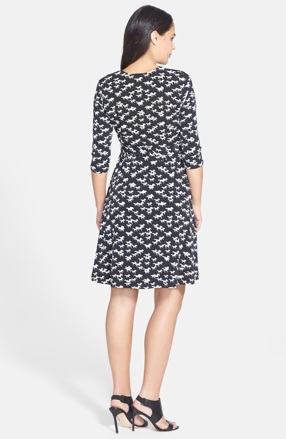 Alternate Image 2  - Leota 'Perfect Wrap' Sheath Maternity Dress