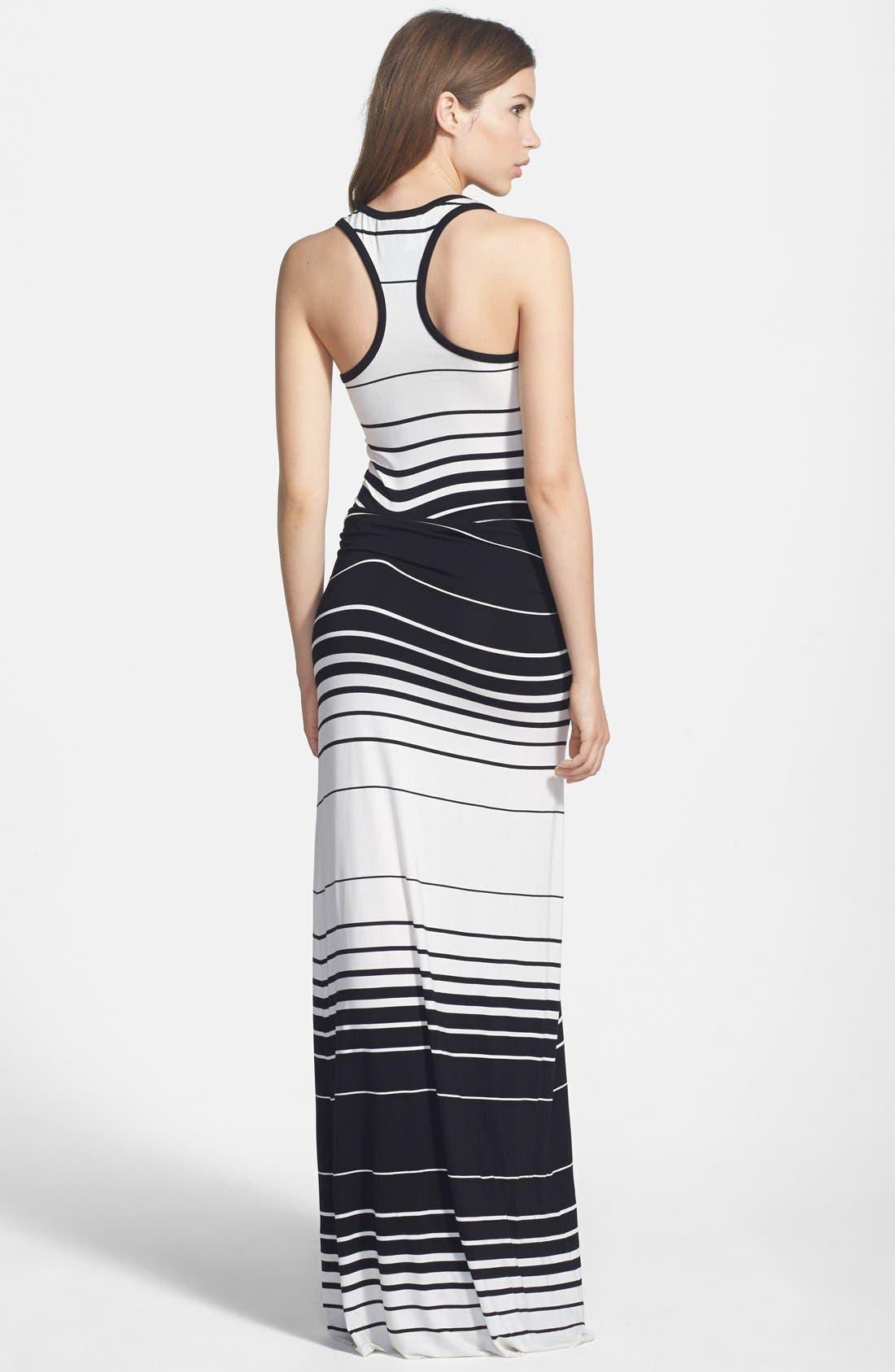 Alternate Image 2  - Young, Fabulous & Broke 'Hamptons' Stripe Maxi Dress