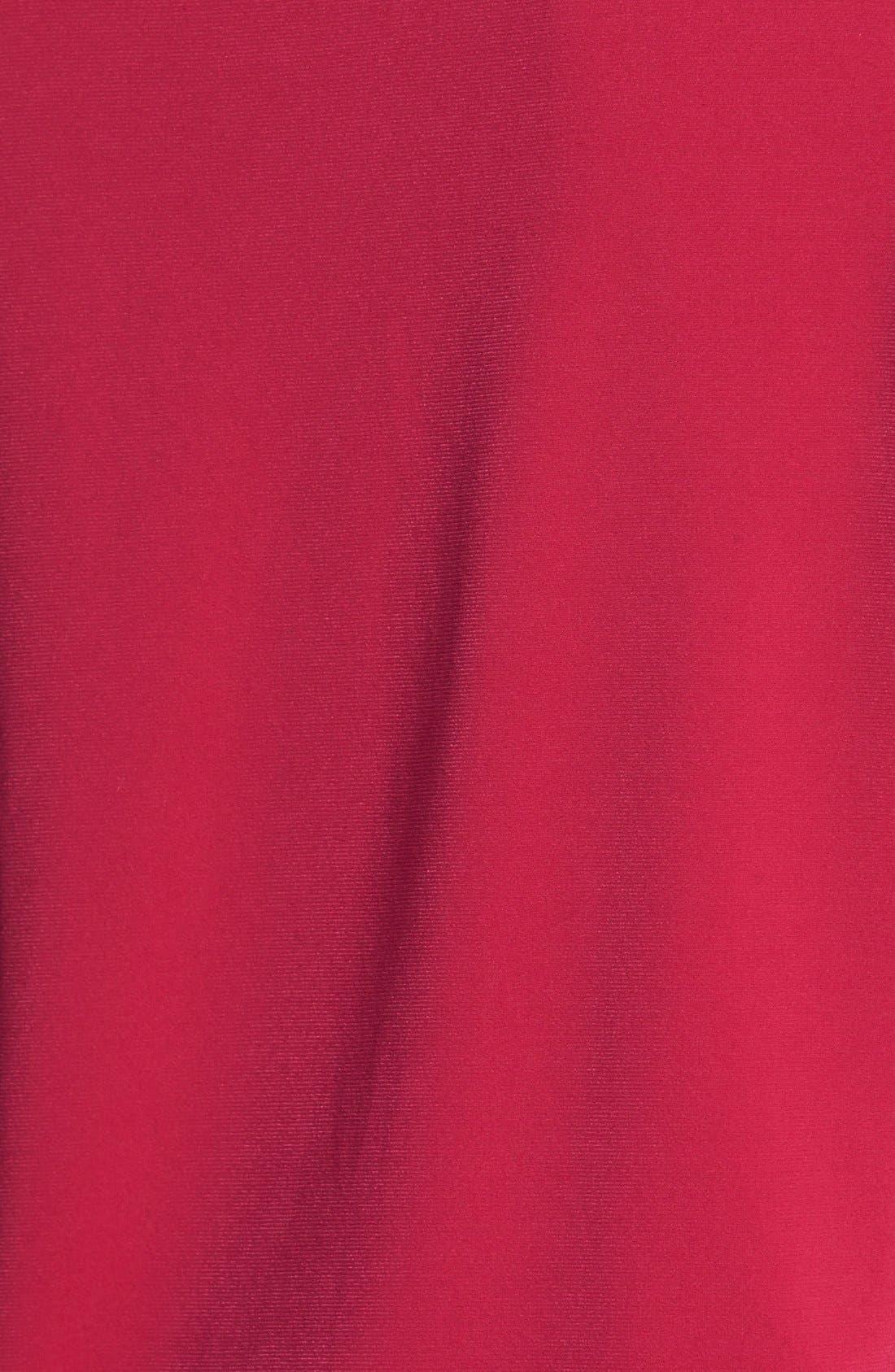 Alternate Image 3  - MICHAEL Michael Kors Zip Shoulder Raglan Top (Regular & Petite)