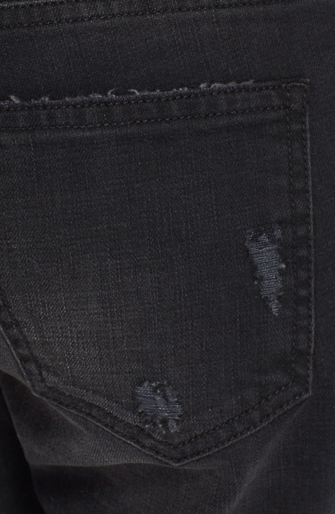 Alternate Image 3  - Current/Elliott 'The Cropped Straight' Destroyed Jeans (Townhouse Destroy) (Nordstrom Exclusive)