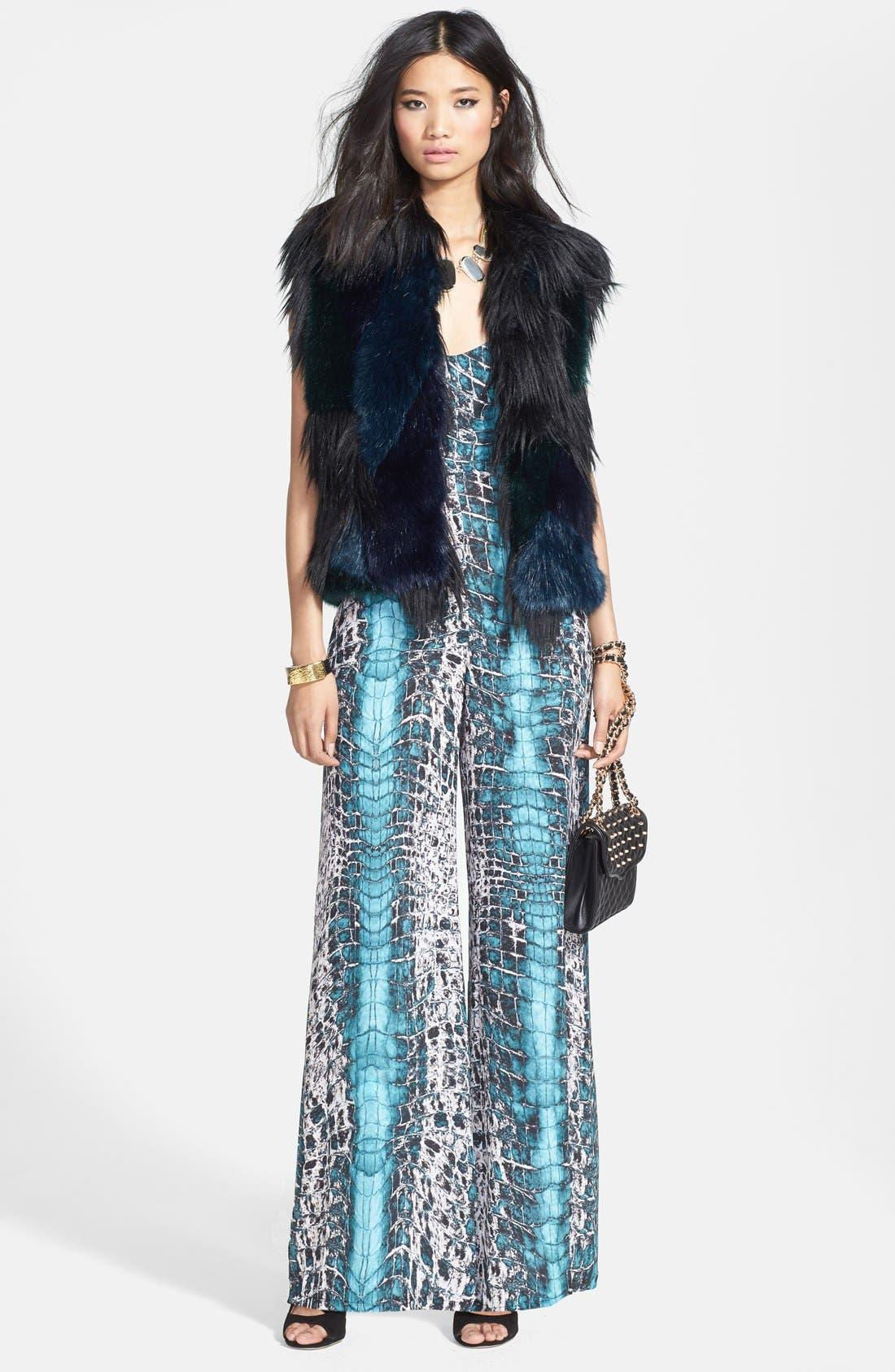 Alternate Image 4  - BLANKNYC Faux Fur Vest