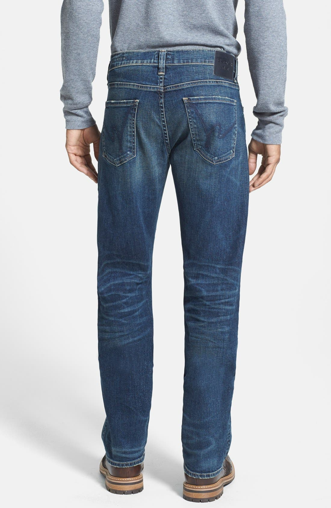 Alternate Image 2  - Citizens of Humanity 'Sid' Classic Straight Leg Jeans (Argo)