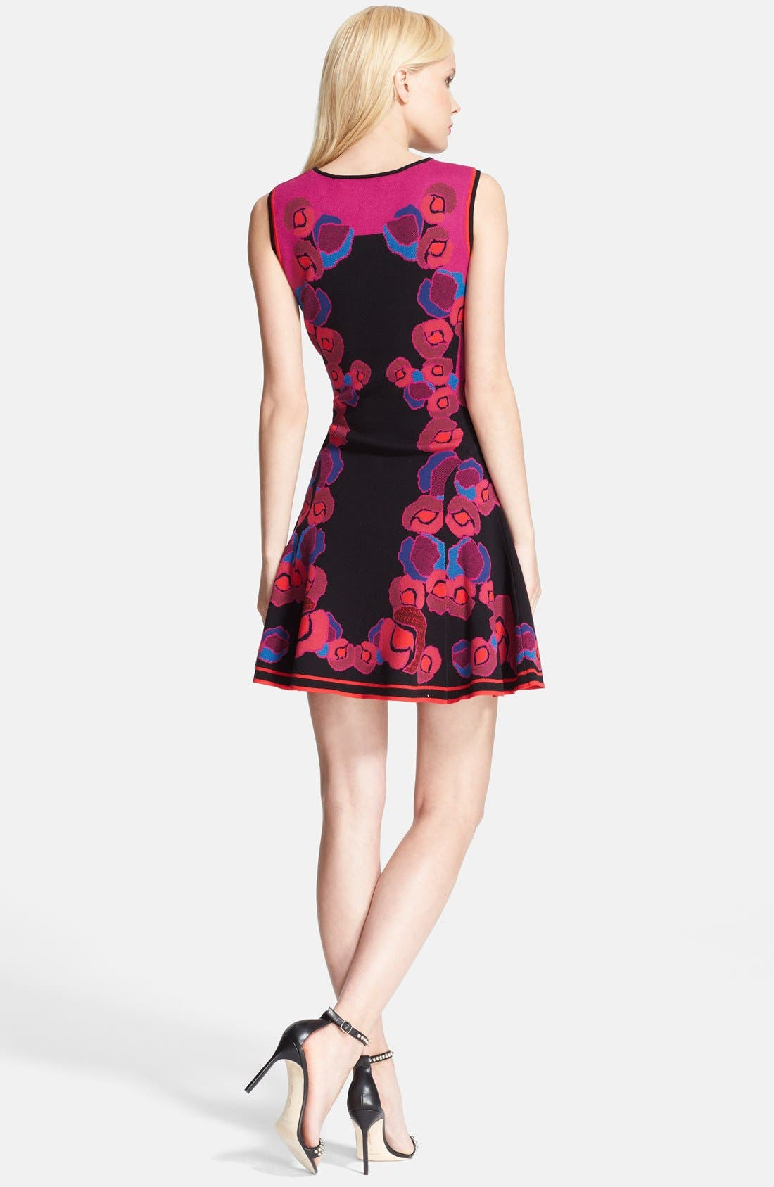 Alternate Image 2  - Diane von Furstenberg Jacquard Fit & Flare Dress