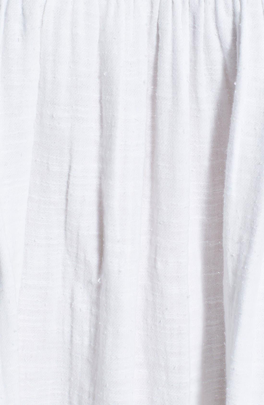 Alternate Image 4  - Billabong 'Wils Bay Breeze' Bracelet Sleeve Babydoll Dress (Juniors)
