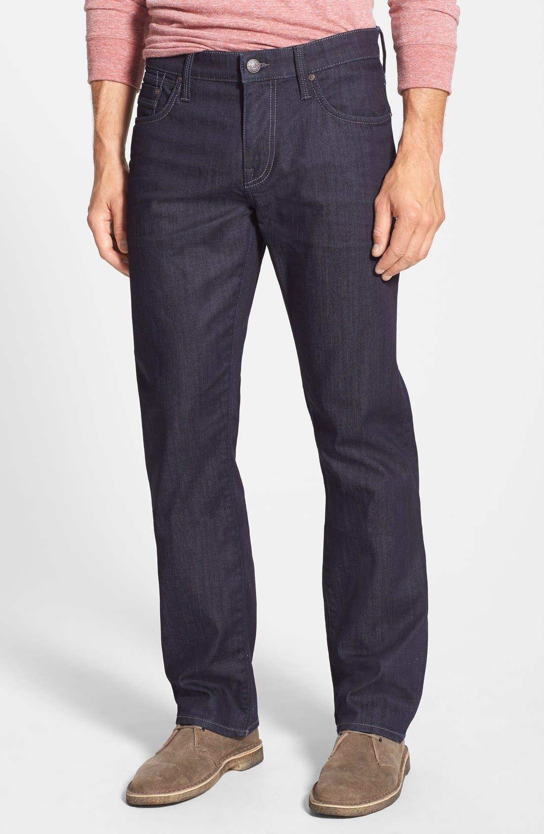 Mavi Jeans 'Zach' Straight Leg Jeans (Deep Rinse Yaletown)