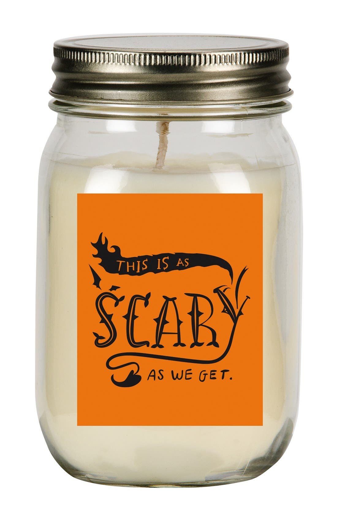 Main Image - Primitives by Kathy 'As Scary As We Get' Mason Jar Candle