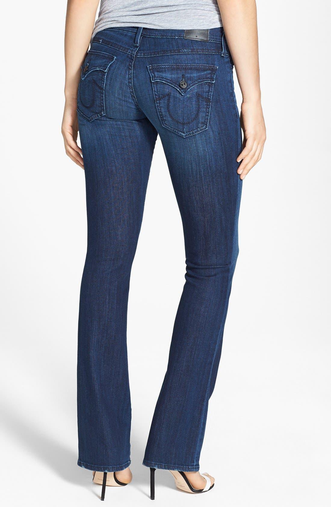 Alternate Image 2  - True Religion Brand Jeans 'Becca' Bootcut Jeans (Faithful Message)