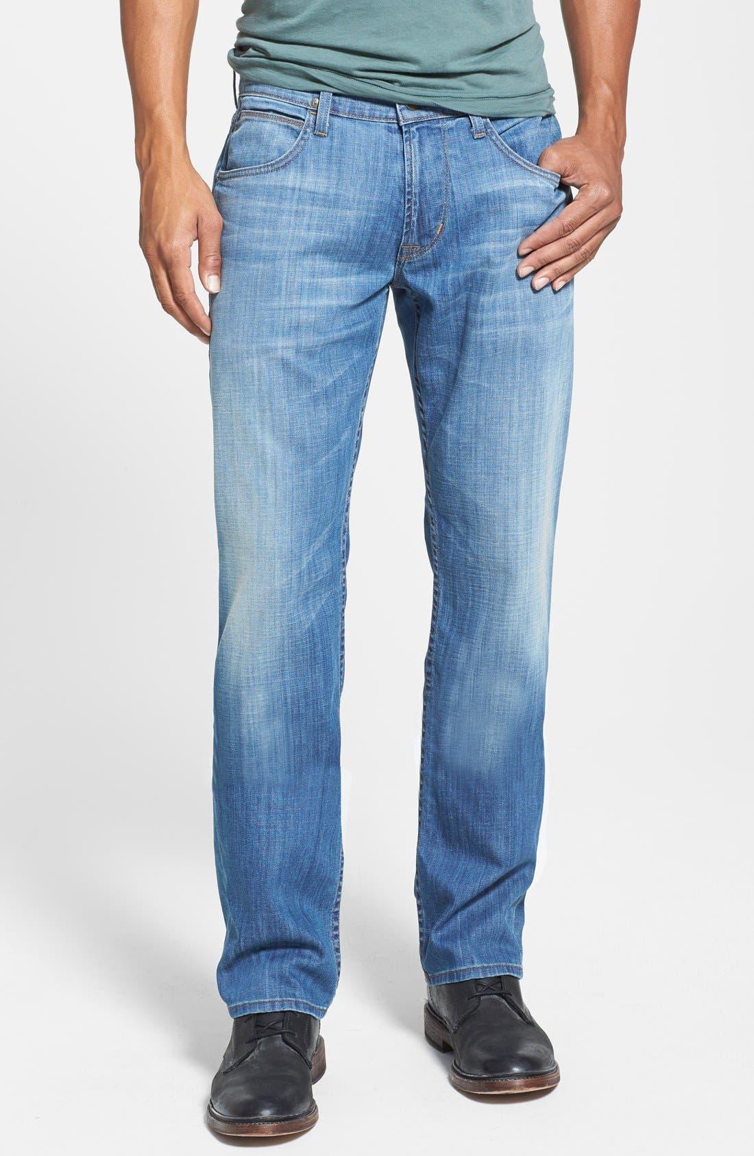 Alternate Image 1 Selected - Hudson Jeans 'Byron' Straight Leg Jeans (Comrade)