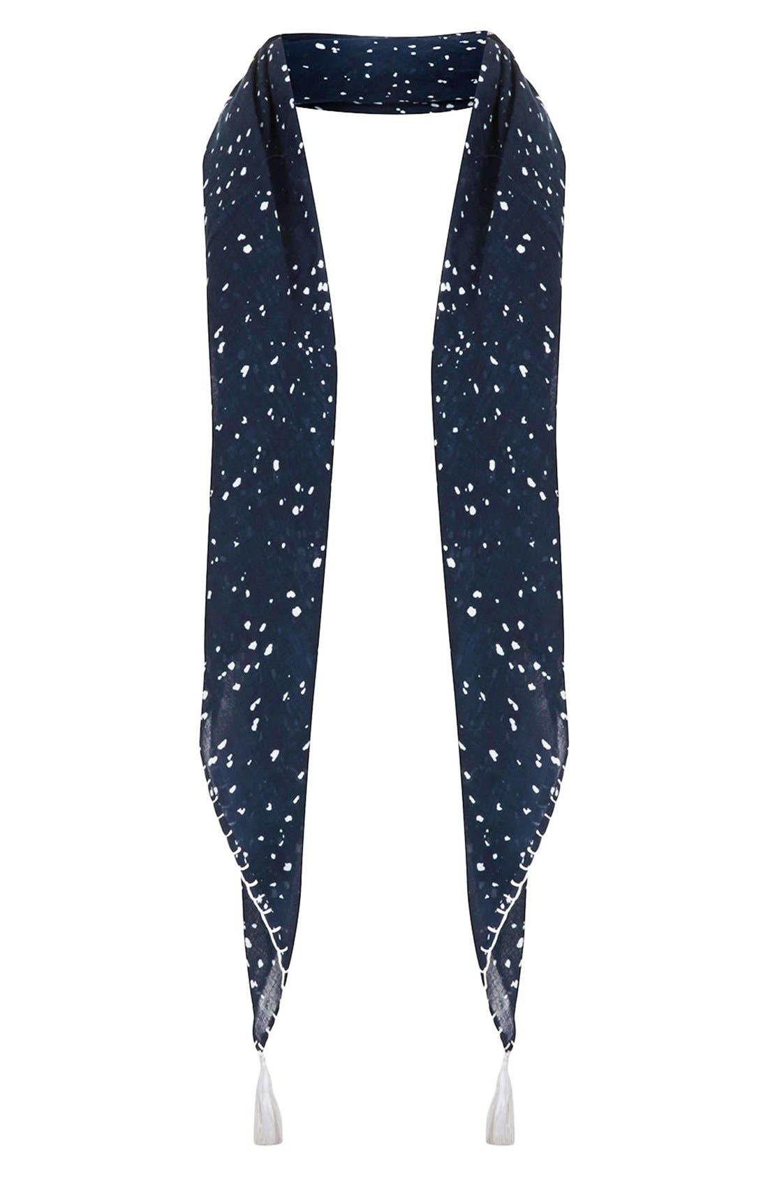 Alternate Image 1 Selected - Topshop Speckle Print Scarf