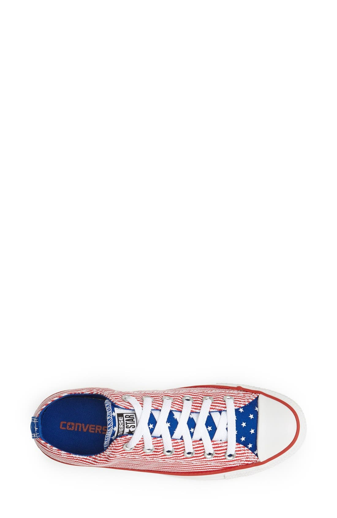 Alternate Image 3  - Converse Chuck Taylor® All Star® 'Ox - Stars and Bars' Low Top Sneaker (Women)