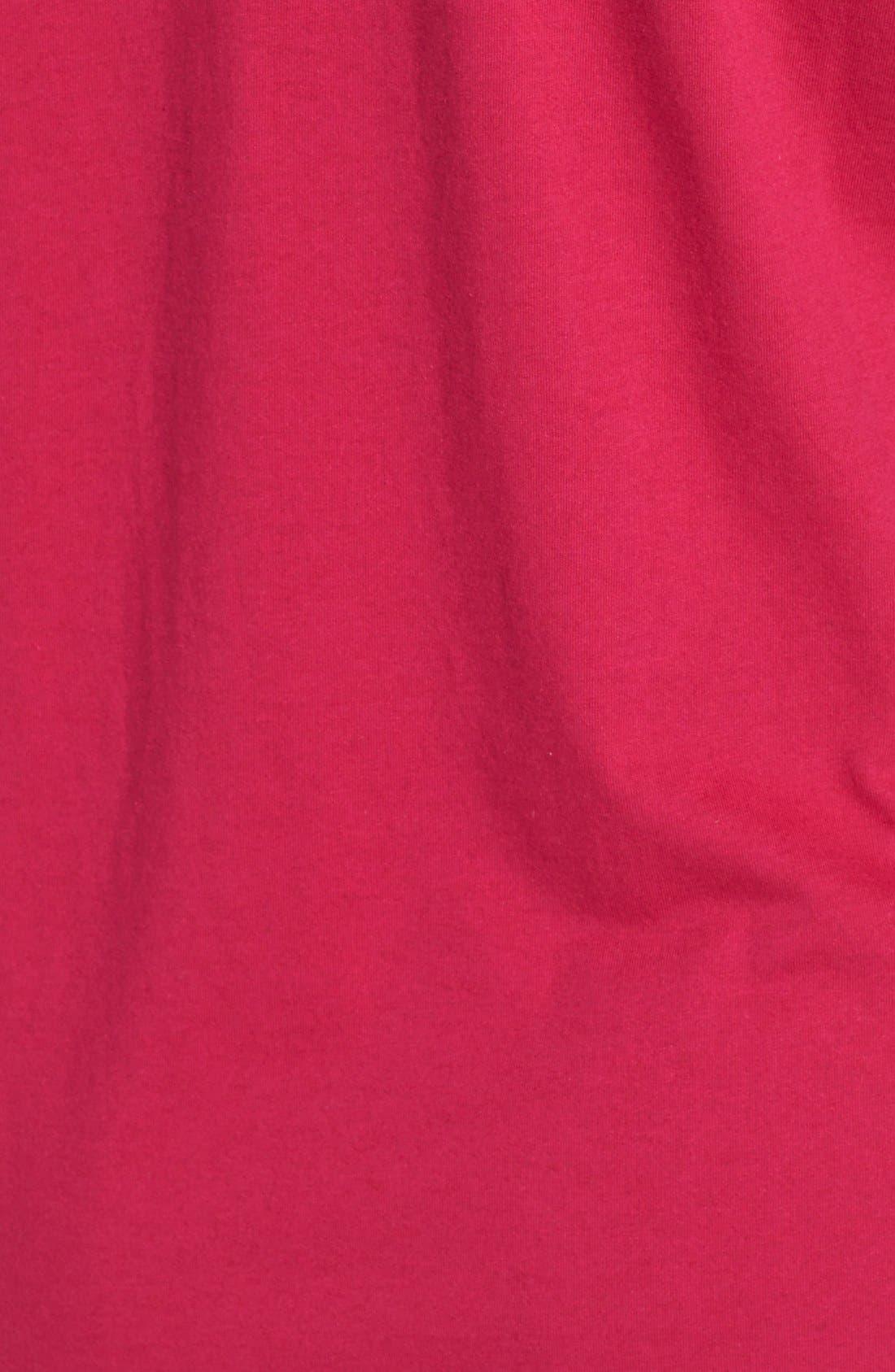 Alternate Image 3  - MICHAEL Michael Kors Short Sleeve V-Neck Top (Plus Size)