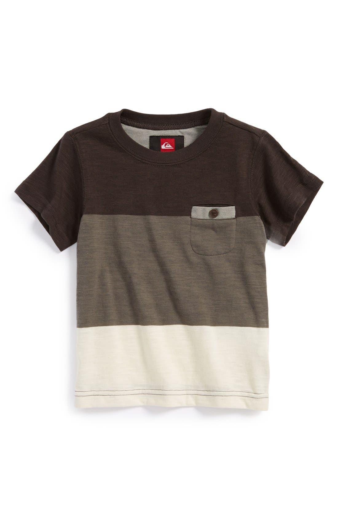 Main Image - Quiksilver 'Half Pint' Slub T-Shirt (Toddler Boys)