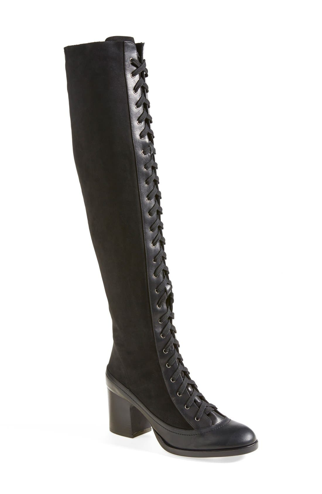 Alternate Image 1 Selected - Rag & Bone 'Acton' Knee High Boot (Women)