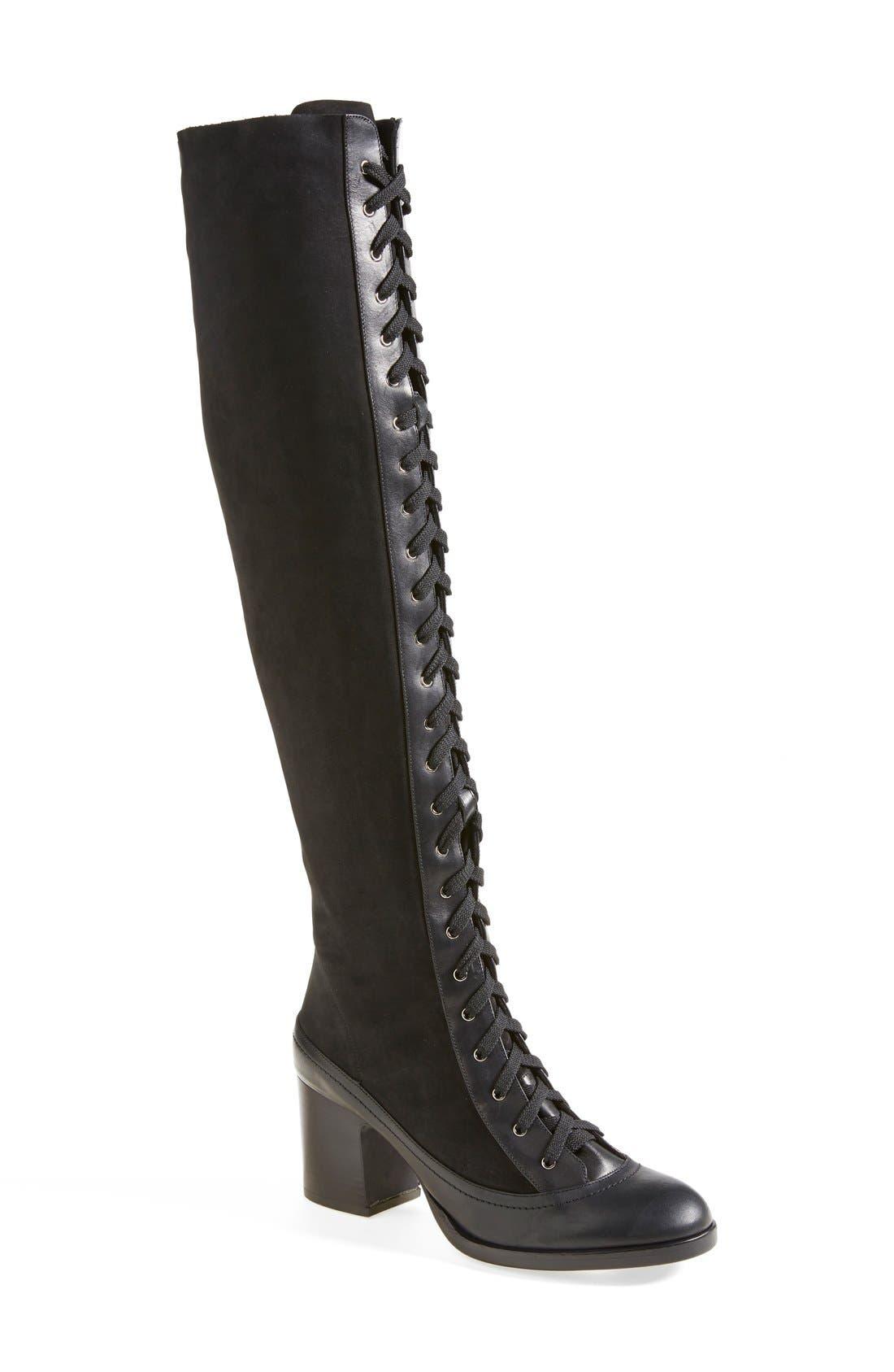 Main Image - Rag & Bone 'Acton' Knee High Boot (Women)