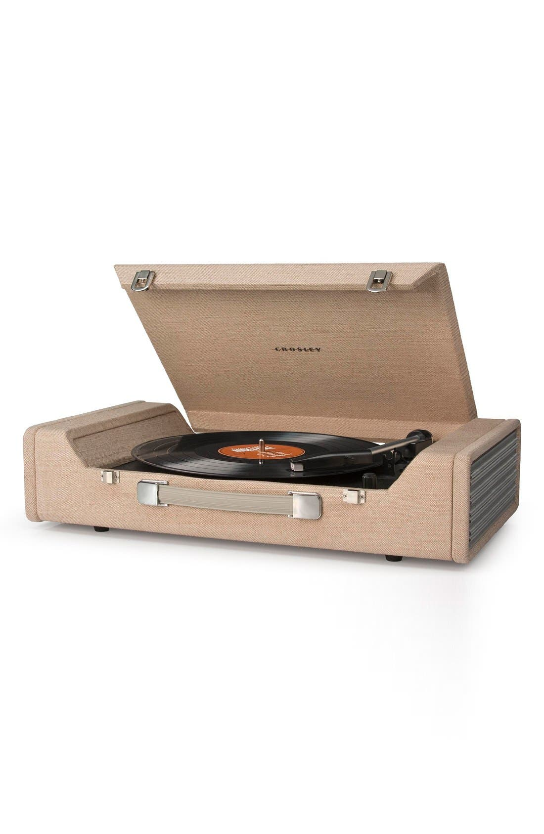 'Nomad' Turntable,                             Alternate thumbnail 2, color,                             Beige/ Khaki