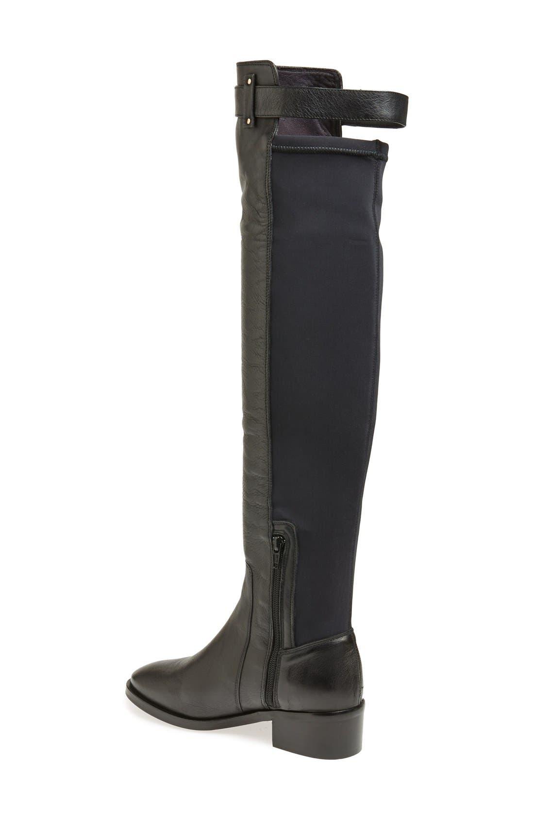 Alternate Image 2  - KG Kurt Geiger 'Vixen' Over the Knee Leather Boot (Women)