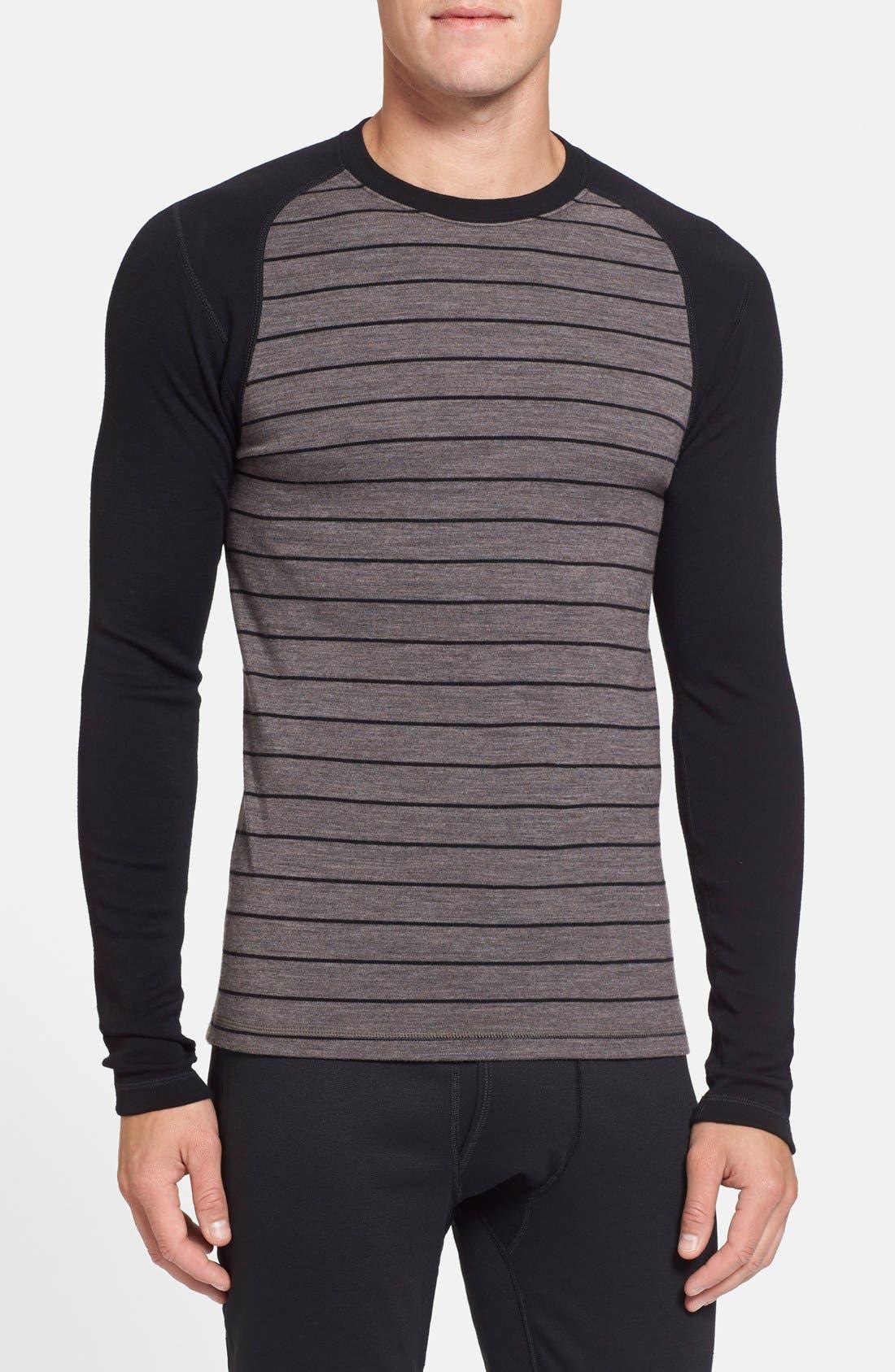 Alternate Image 1 Selected - Smartwool 250g Base Layer Midweight Crewneck Shirt
