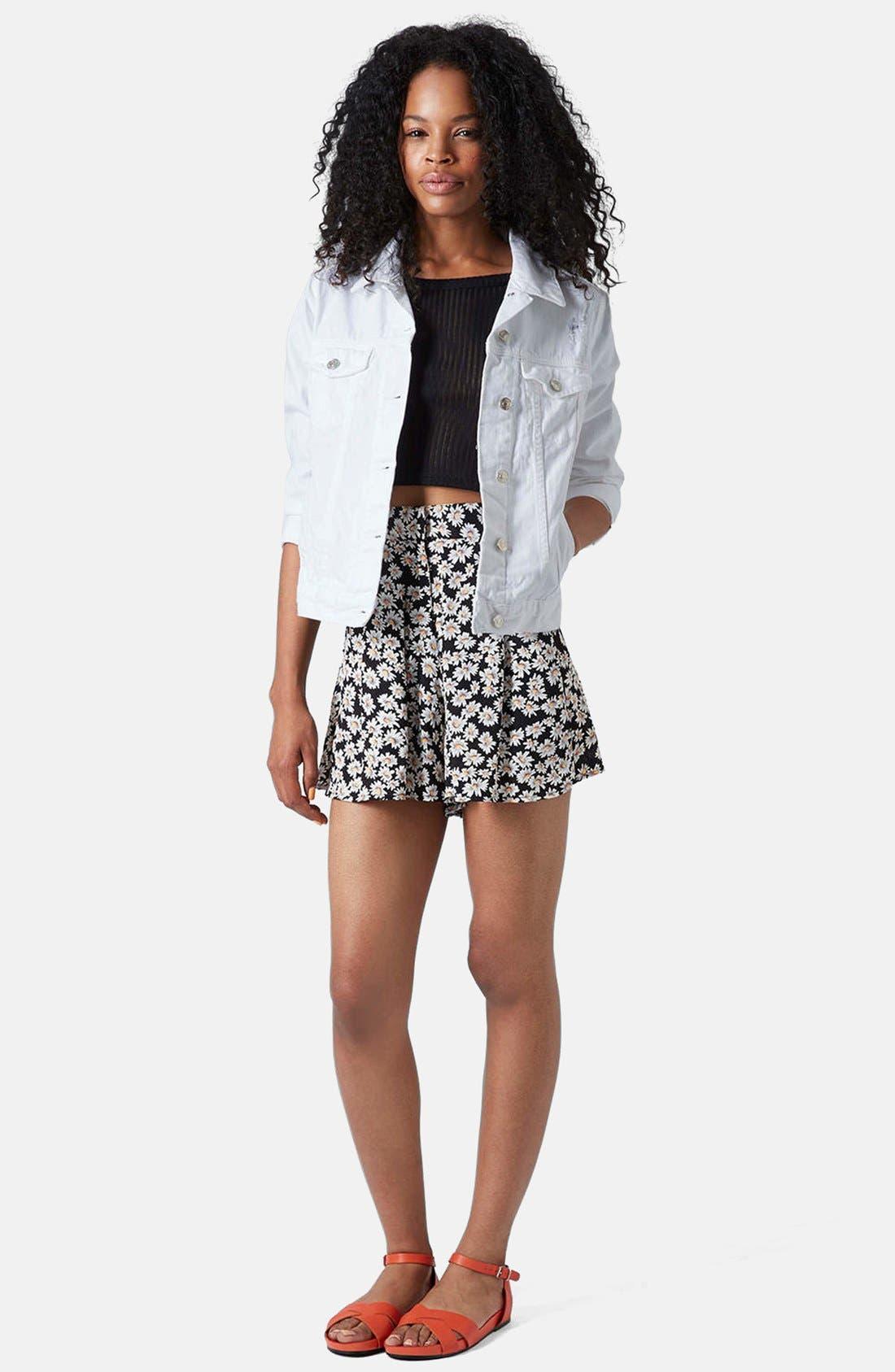 Alternate Image 5  - Topshop 'Tilda' Denim Jacket