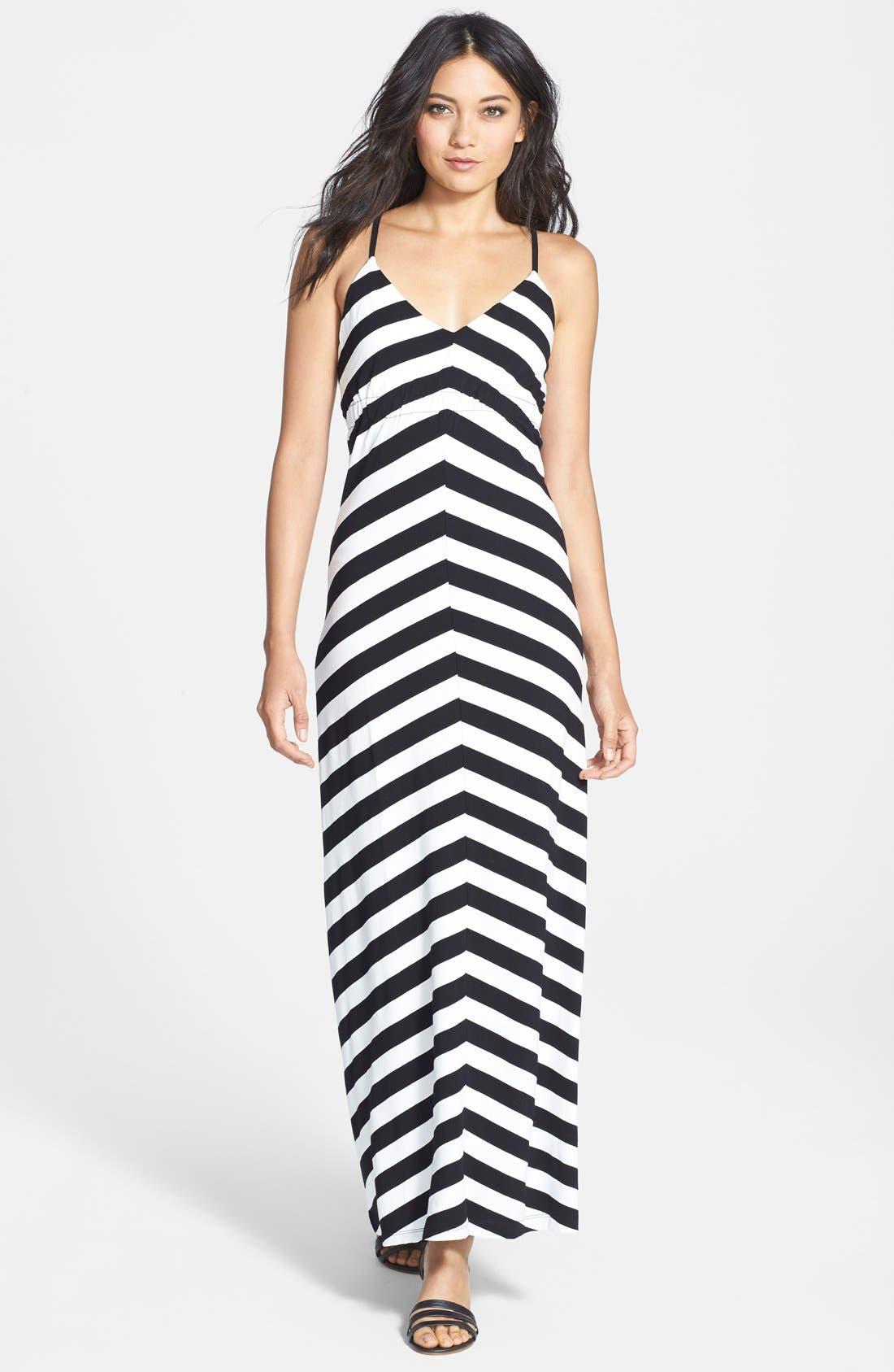 Alternate Image 1 Selected - Bardot Stripe Maxi Dress (Nordstrom Exclusive)