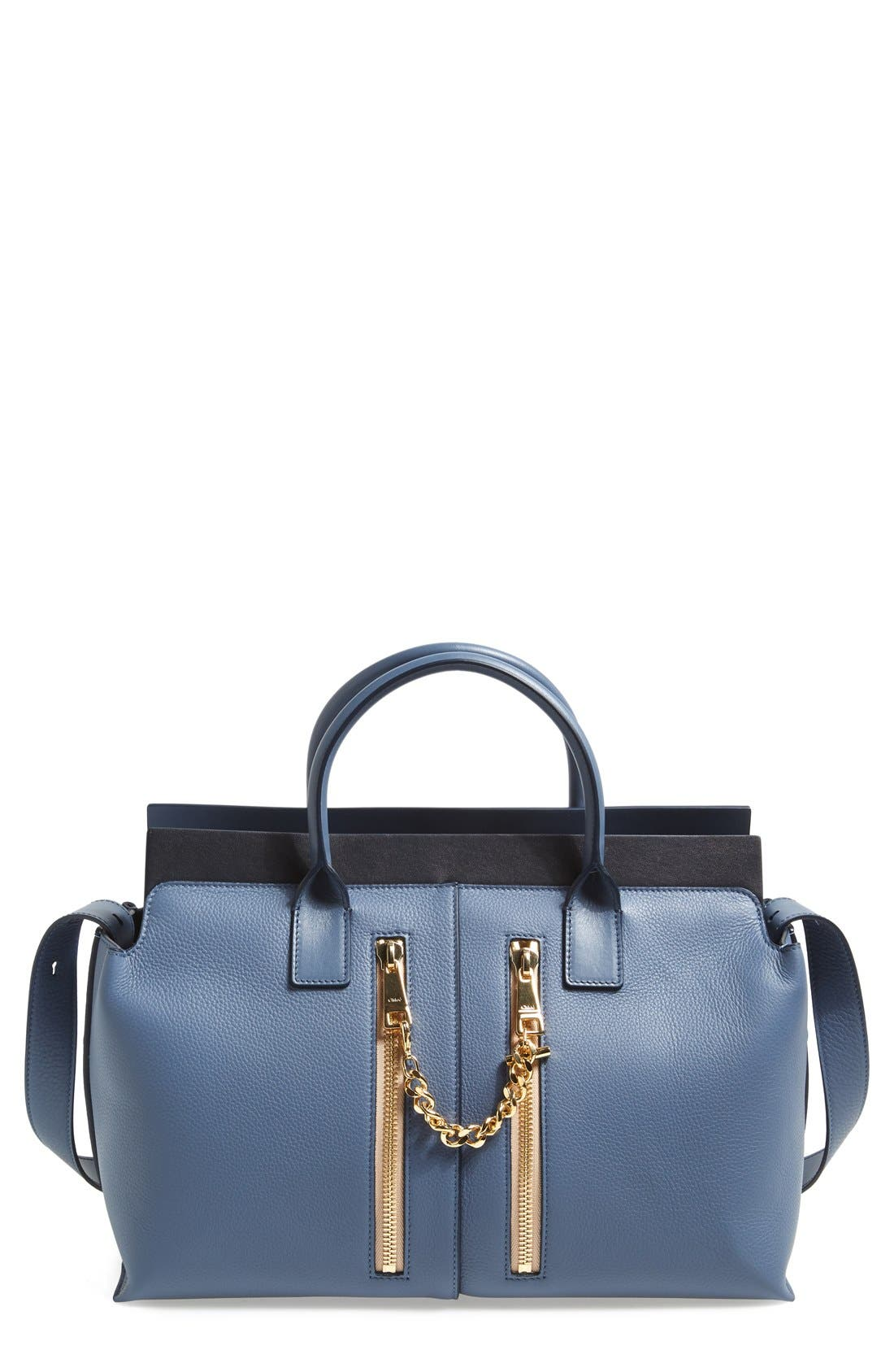 Alternate Image 1 Selected - Chloé 'Cate - Medium' Leather Satchel