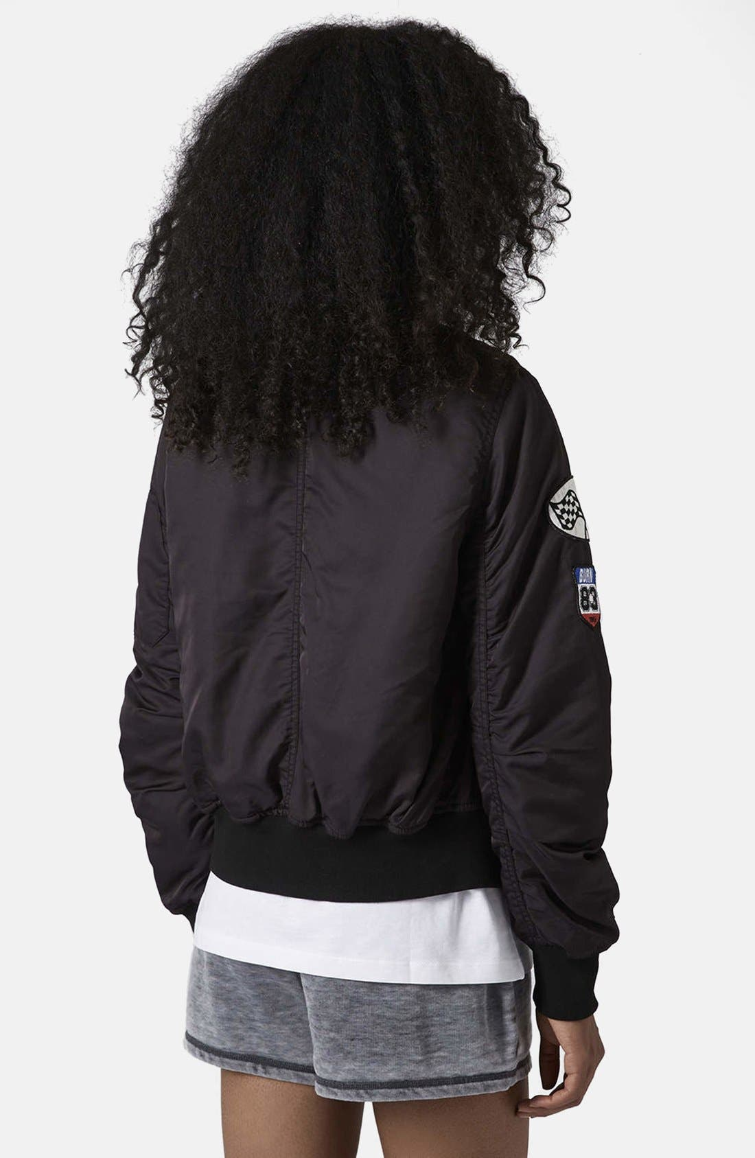 Alternate Image 2  - Topshop MA1 Bomber Jacket