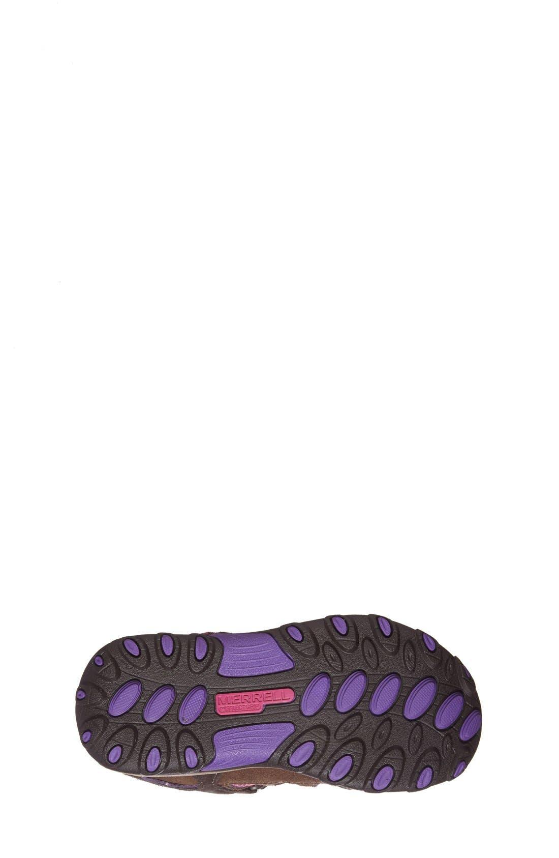 Alternate Image 4  - Merrell 'Chameleon' Waterproof Sneaker(Toddler, Little Kid & Big Kid)
