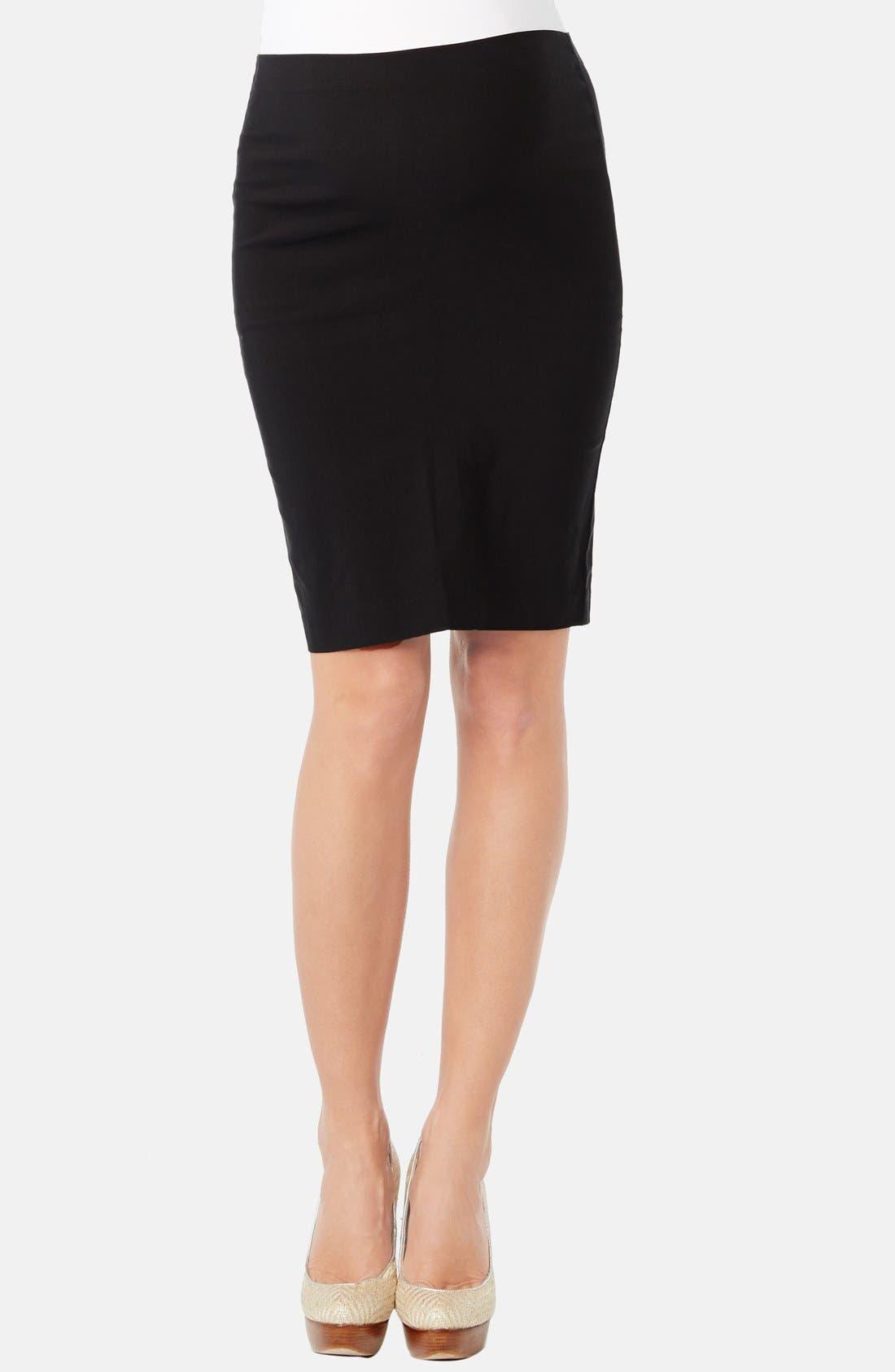 ROSIE POPE 'Pret' Maternity Skirt in Black