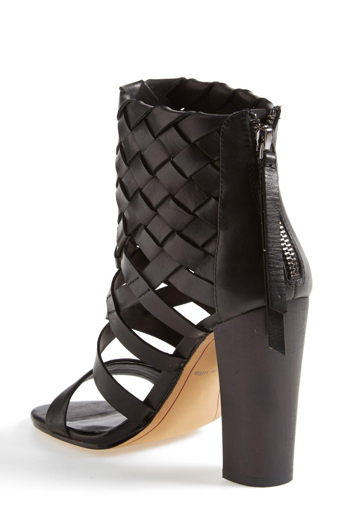 Alternate Image 2  - Dolce Vita 'Nakita' Woven Leather Sandal