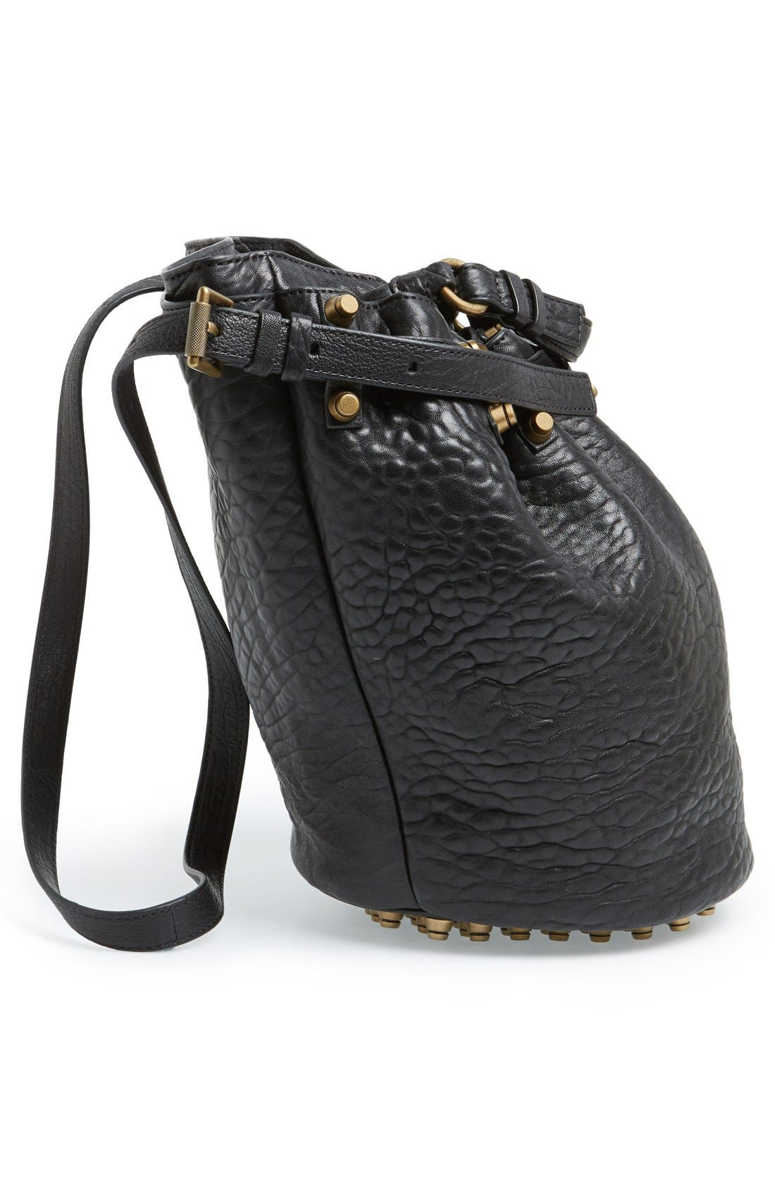 Alternate Image 5  - Alexander Wang 'Diego' Leather Bucket Bag