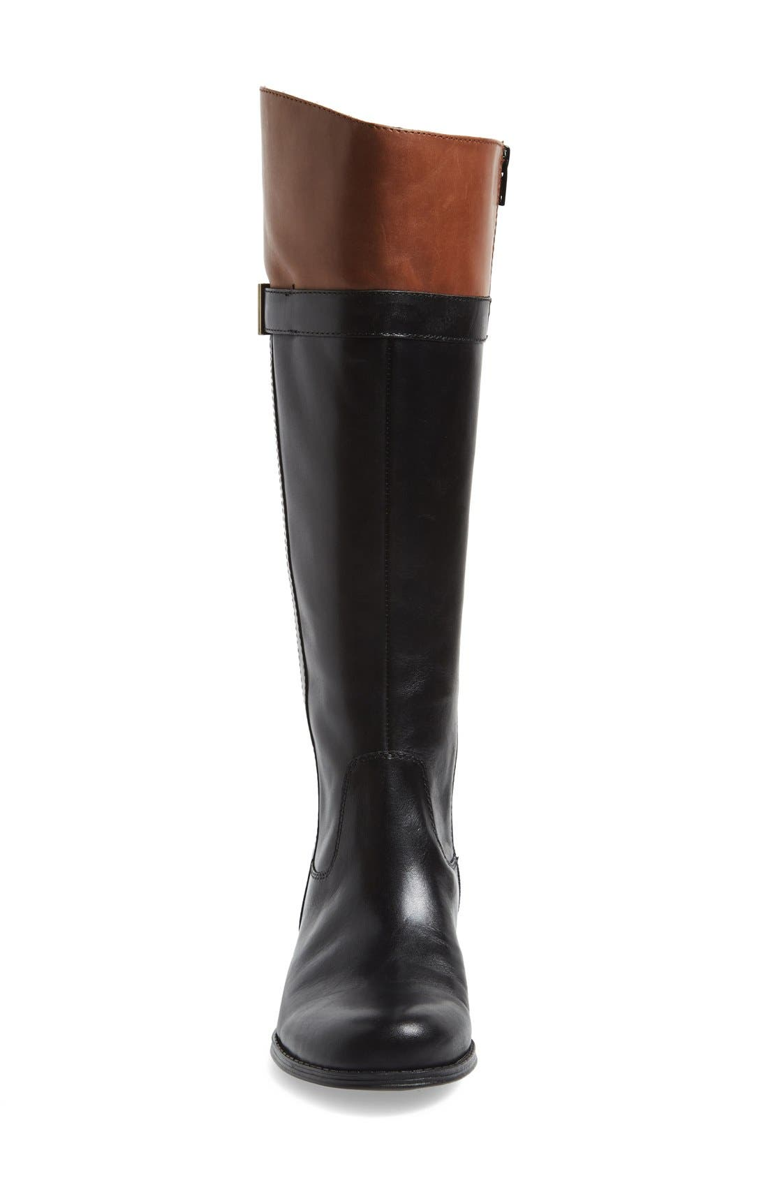 Alternate Image 3  - Naturalizer 'Josette' Knee High Boot (Wide Calf) (Women)