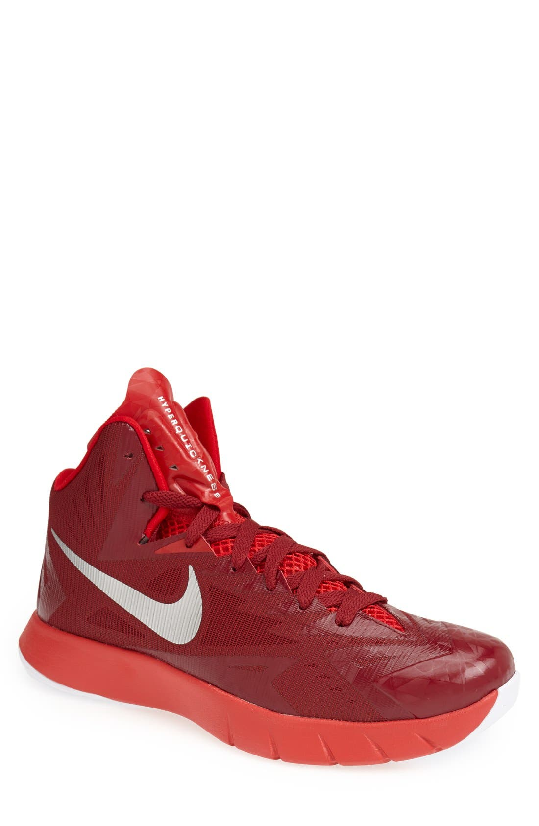 Main Image - Nike 'Lunar Hyperquickness TB' Basketball Shoe (Men)