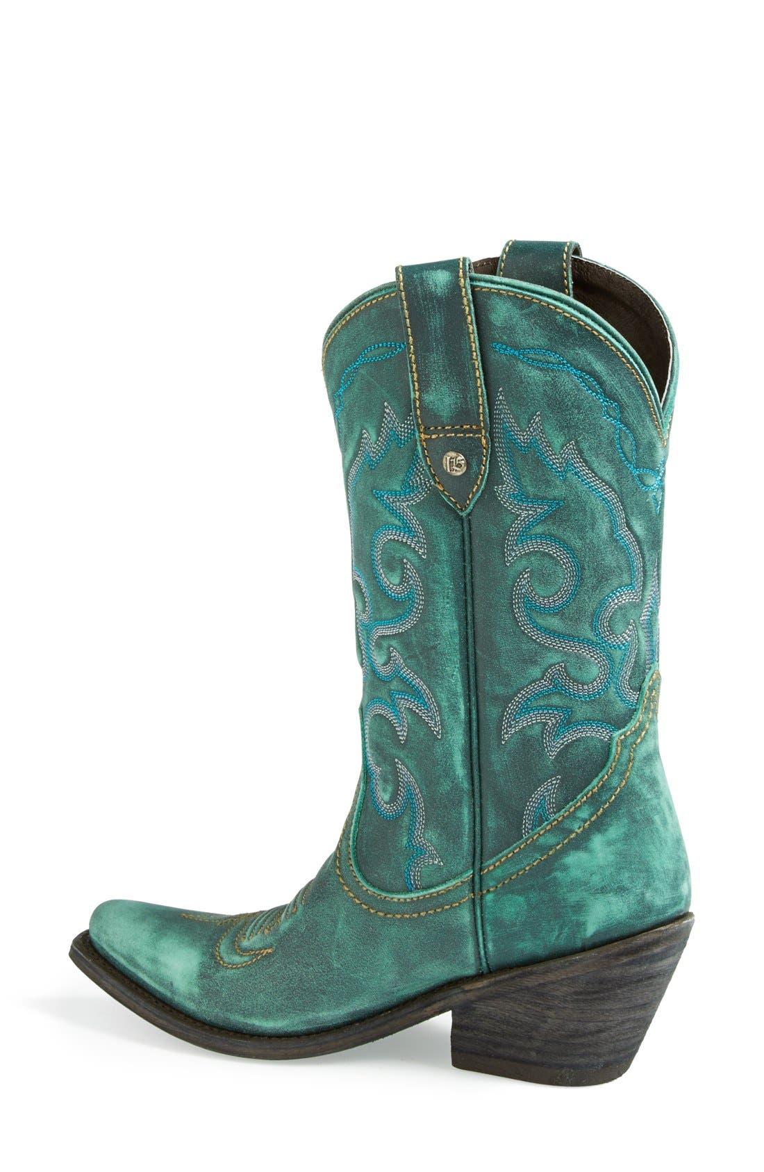 Alternate Image 2  - Liberty Black Western Leather Boot (Women)