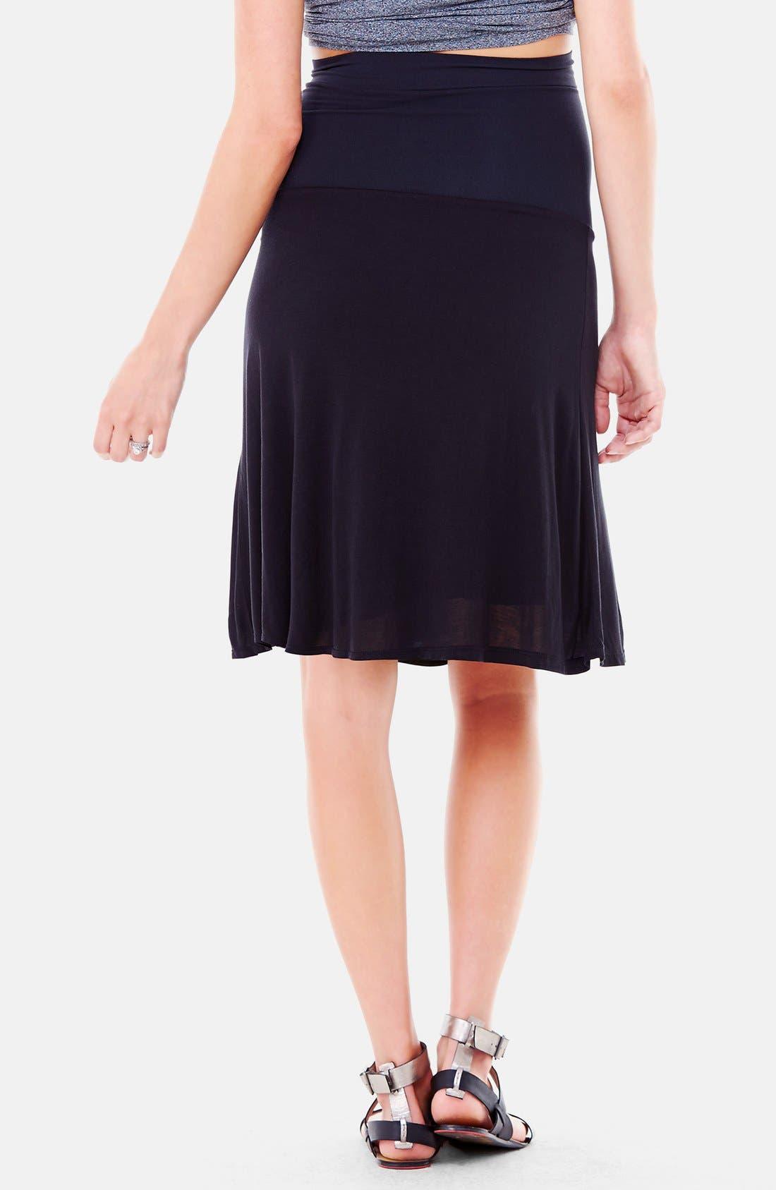 Alternate Image 2  - Ingrid & Isabel® 'Flowy' Maternity Skirt