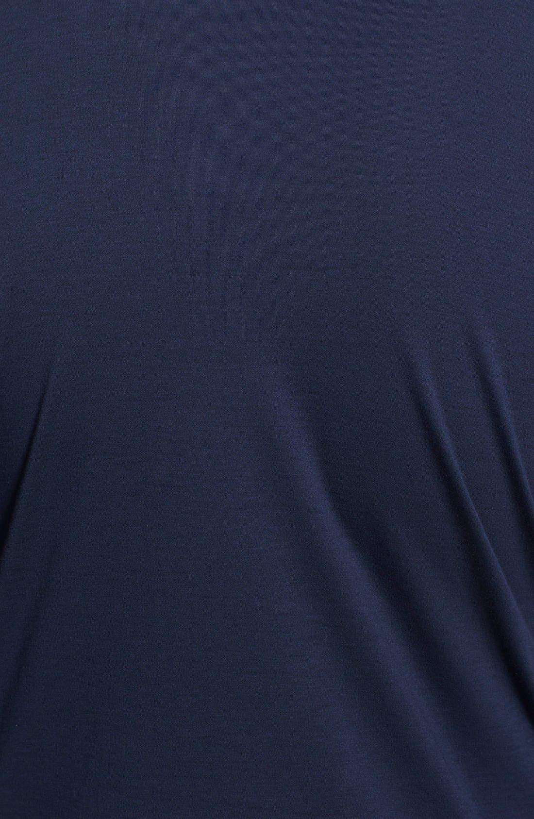 Alternate Image 3  - Armani Collezioni Cotton Jersey T-Shirt