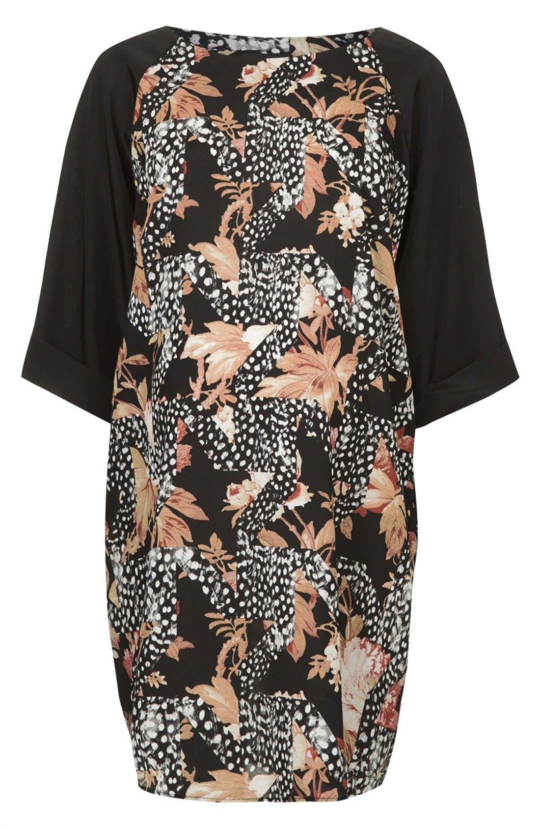 Main Image - Topshop Toile Print Maternity Dress