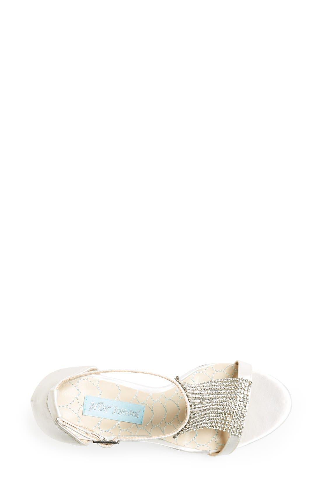 Alternate Image 3  - Blue by Betsey Johnson 'Mesh' Sandal (Women)