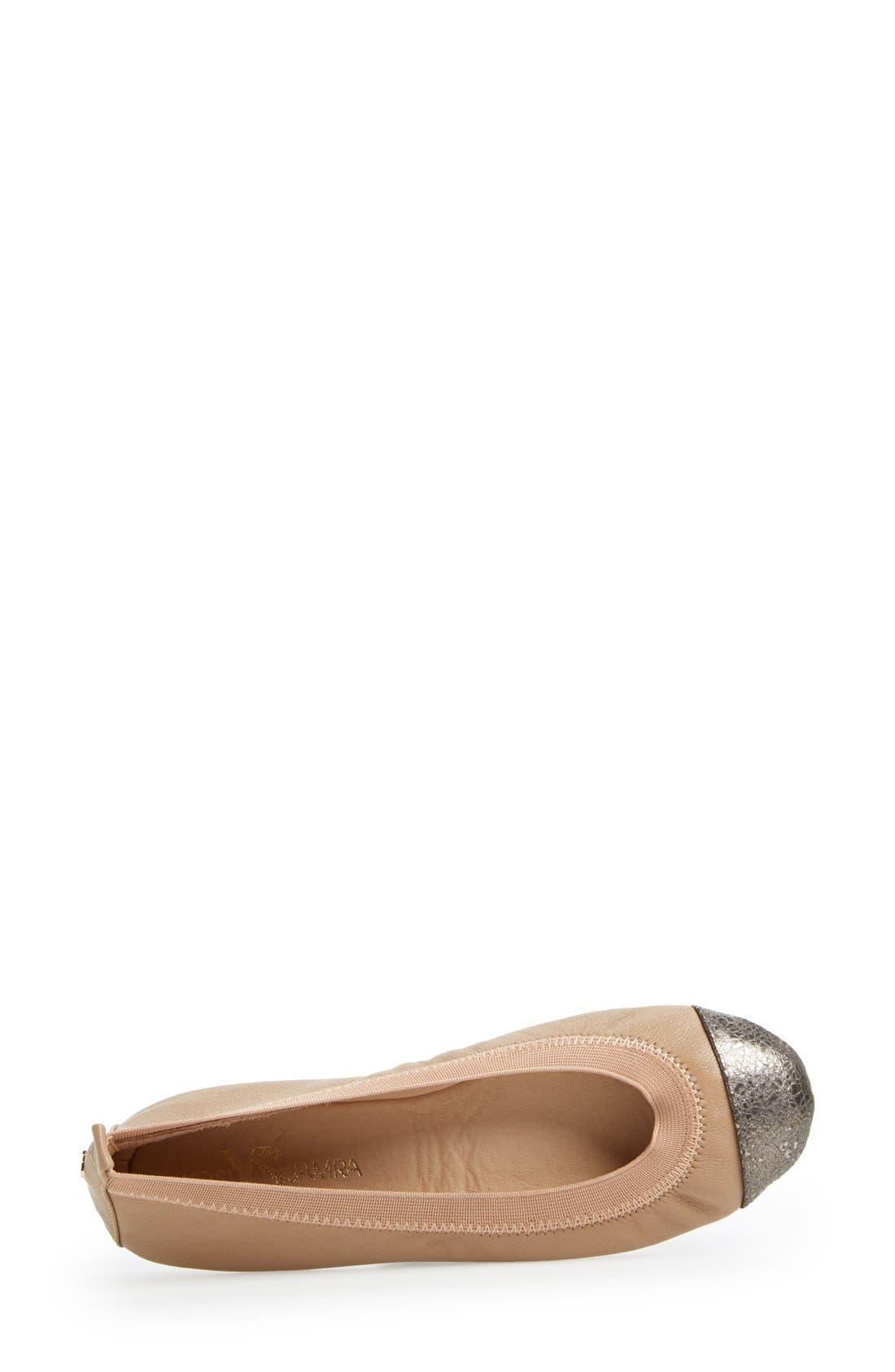 Alternate Image 3  - Yosi Samra 'Samantha' Foldable Ballet Flat (Women)