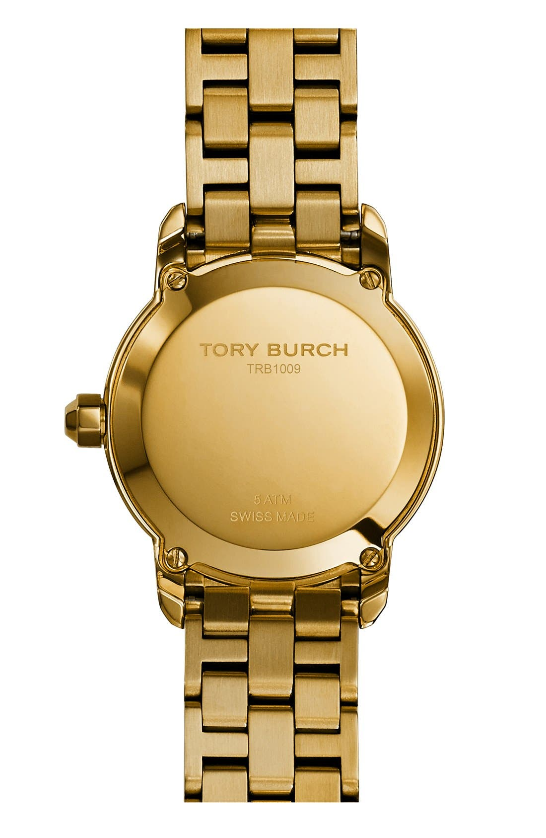 Alternate Image 3  - Tory Burch 'Tory' Small Round Bracelet Watch, 28mm