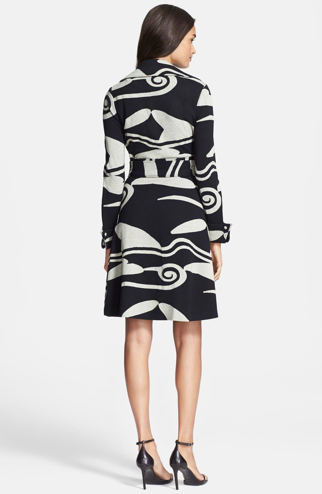 Alternate Image 2  - Diane von Furstenberg Knit Wrap Dress